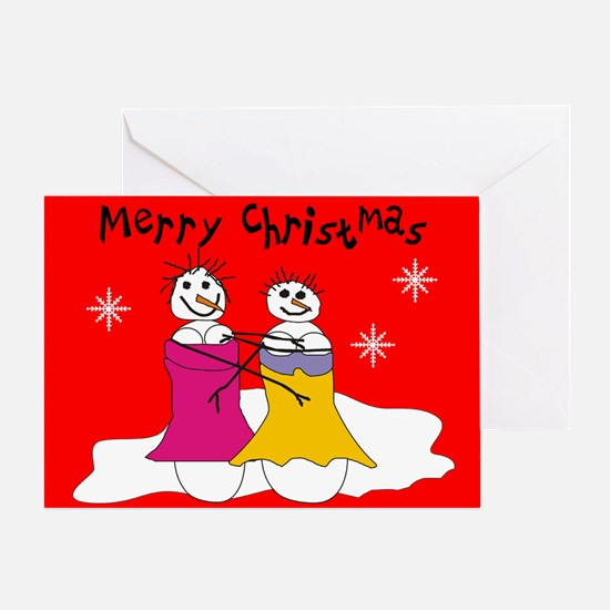Lesbian Greeting Cards CafePress - Card template free: golf christmas cards