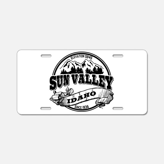 Sun Valley Old Circle Aluminum License Plate