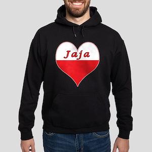 Jaja Polish Heart Hoodie (dark)