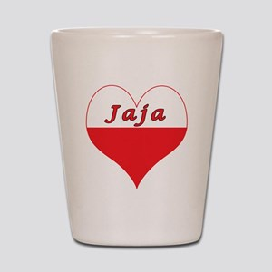 Jaja Polish Heart Shot Glass
