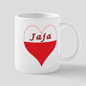 Jaja Polish Heart Mug