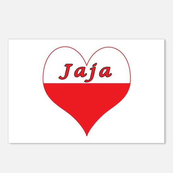Jaja Polish Heart Postcards (Package of 8)