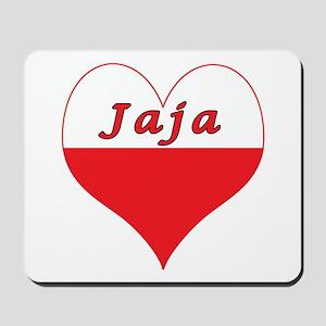 Jaja Polish Heart Mousepad