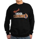 Novel Under Construction Sweatshirt (dark)
