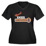 Novel Under Construction Women's Plus Size V-Neck