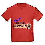 Novel Under Construction Kids Dark T-Shirt