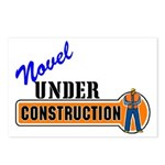 Novel Under Construction Postcards (Package of 8)
