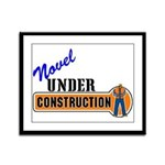 Novel Under Construction Framed Panel Print