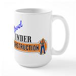 Novel Under Construction Large Mug
