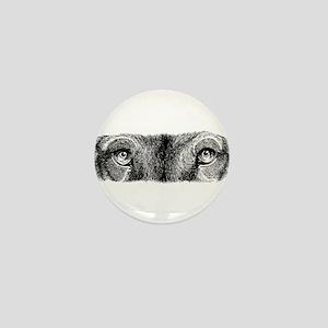 Wolf Eyes Mini Button