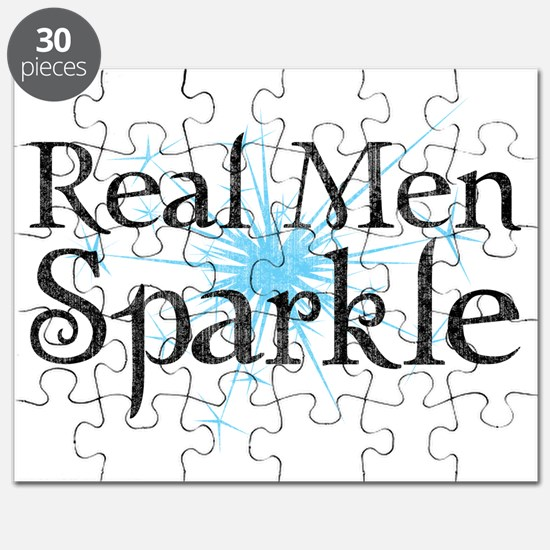 Real Men Sparkle 2 Puzzle