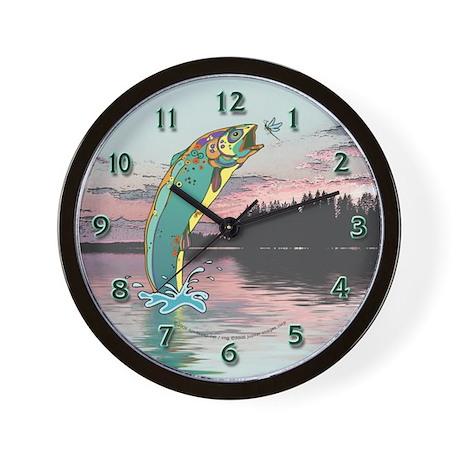 Fish Are Jumping! Wall Clock