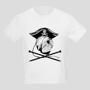 Yarrrrn Pirate! Kids Light T-Shirt