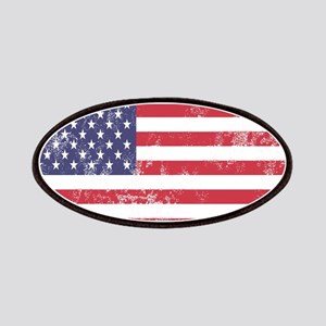 Faded American Flag Patch