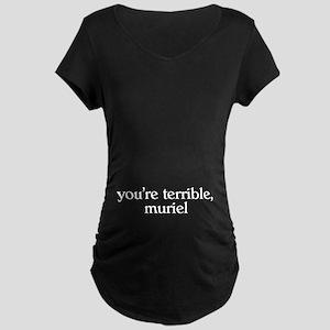 Muriel Maternity Dark T-Shirt