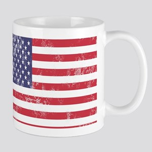 Faded American Flag Mugs