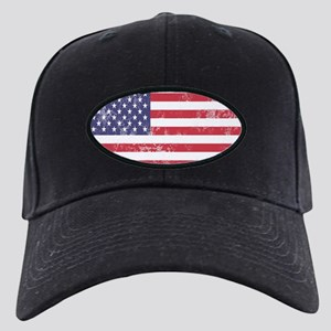 Faded American Flag Baseball Hat