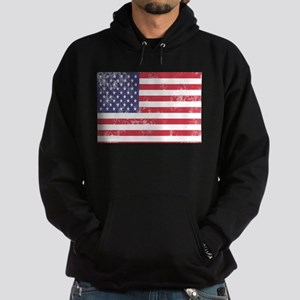 Faded American Flag Sweatshirt