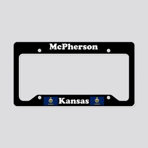 McPherson, KS License Plate Holder
