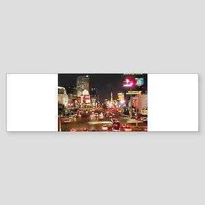 Vegas Strip Sticker (Bumper)