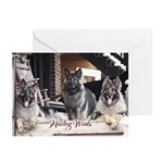 Howling Winds 2012 Greeting Cards (Pk of 10)