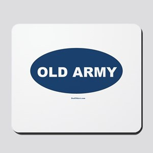 Old Army Dad Mousepad