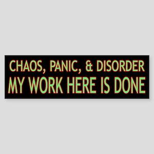 Chaos Sticker (Bumper)
