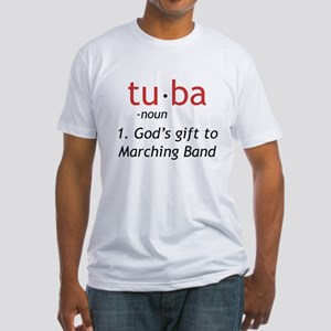 Tuba Definition Fitted T-Shirt