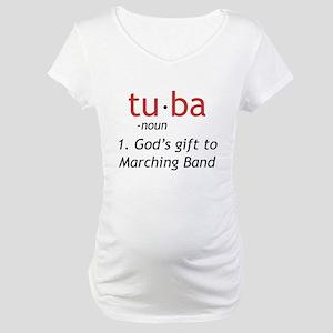 Tuba Definition Maternity T-Shirt