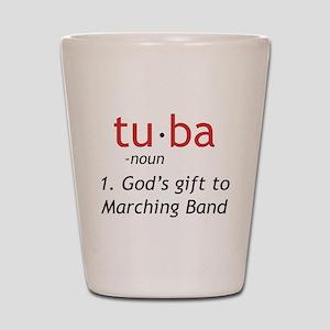Tuba Definition Shot Glass