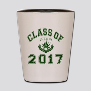 2017 School Of Hard Knocks Shot Glass