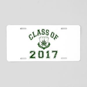 2017 School Of Hard Knocks Aluminum License Plate