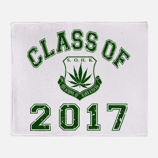2017 School Of Hard Knocks Throw Blanket