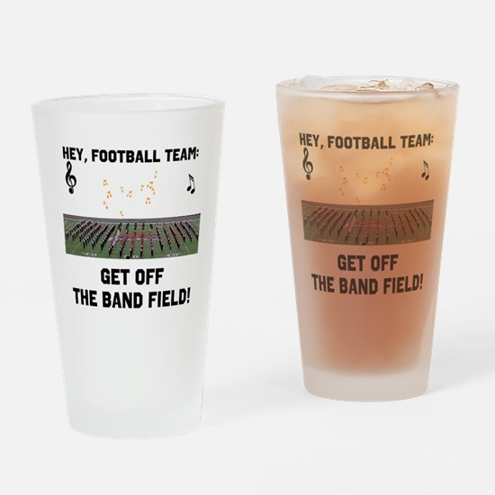 Unique Marching band Drinking Glass