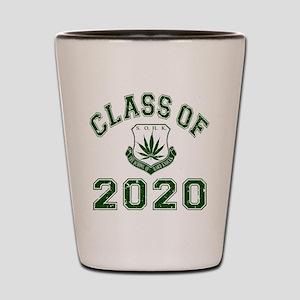 2020 School Of Hard Knocks Shot Glass