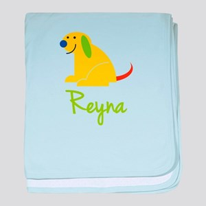 Reyna Loves Puppies baby blanket