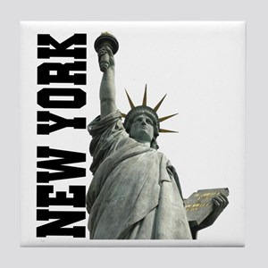Statue of Liberty New York Tile Coaster