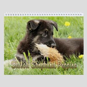 Shiloh Puppy 2012 Wall Calendar