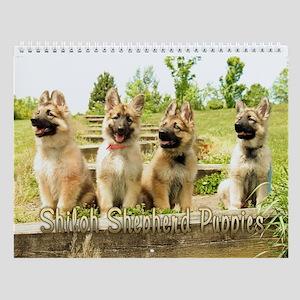 Shiloh Puppy Wall Calendar :2011