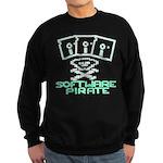 Software Pirate 5.25 Floppy Sweatshirt (dark)