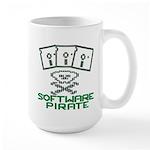 Software Pirate 5.25 Floppy Large Mug