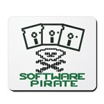 Software Pirate 5.25 Floppy Mousepad