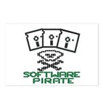 Software Pirate 5.25 Floppy Postcards (Package of