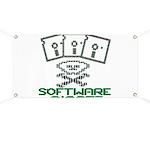 Software Pirate 5.25 Floppy Banner