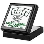 Software Pirate 5.25 Floppy Keepsake Box