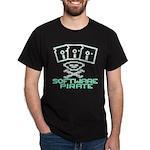 Software Pirate 5.25 Floppy Dark T-Shirt