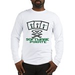 Software Pirate 5.25 Floppy Long Sleeve T-Shirt