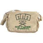 Software Pirate 5.25 Floppy Messenger Bag