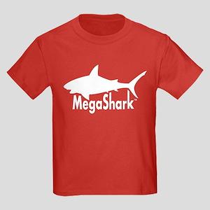MegaShark logo Kids Dark T-Shirt
