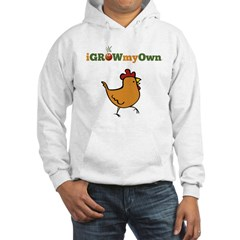 iGrowMyOwn: Chicken: Style 01A Hoodie